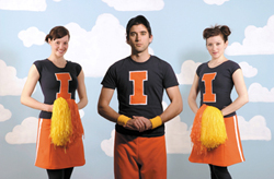 sufjan cheerleaders Sufjan and the Illinoismakers